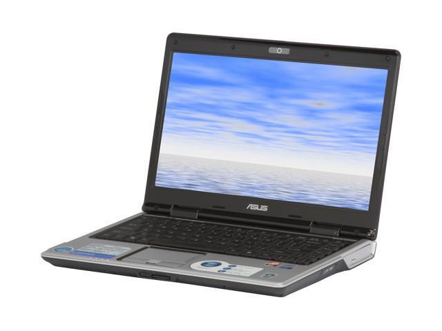 """ASUS F81 Series F81Se-X1 14.1"""" Windows Vista Home Premium Laptop"""