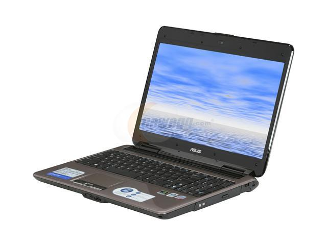 ASUS Laptop N51 Series N51Vf-X1 Intel Core 2 Duo P8600 (2.40 GHz) 4 GB Memory 320 GB HDD NVIDIA GeForce GT 130M 15.6