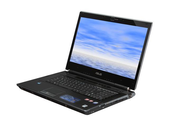 ASUS Laptop W90 Series W90Vp-X2 Intel Core 2 Quad Q9000 (2.00 GHz) 6 GB Memory 320 GB HDD ATI Mobility Radeon HD 4870 X2 18.4