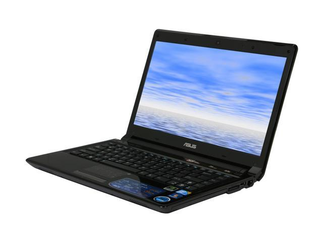 ASUS Laptop UL80 Series UL80Vt-A1 Intel Core 2 Duo SU7300 (1.30 GHz) 4 GB Memory 320 GB HDD NVIDIA GeForce G210M + Intel ...