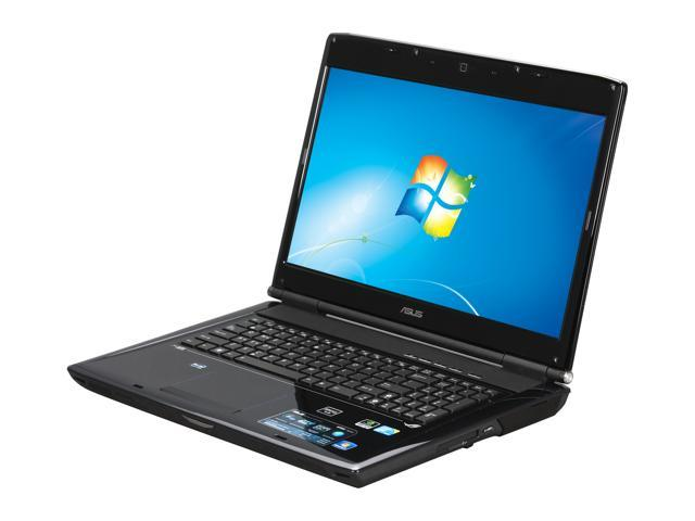 ASUS Laptop G Series G72Gx-A1 Intel Core 2 Quad Q9000 (2.00 GHz) 6 GB Memory 1 TB HDD NVIDIA GeForce GTX 260M 17.3