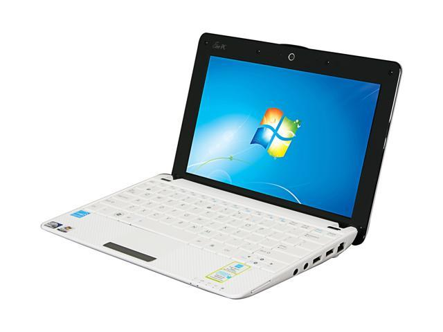 ASUS Eee PC 1001P-PU17-WT White (texture) Intel Atom N450(1.66 GHz) 10.1