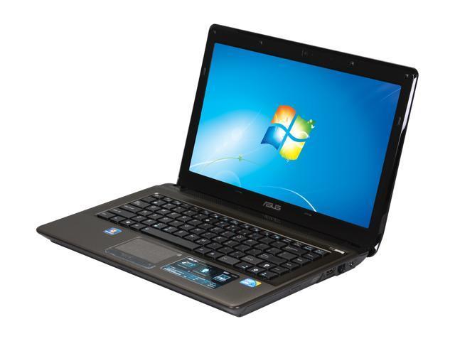 ASUS Laptop K42 Series K42F-A1 Intel Core i3 350M (2.26 GHz) 4 GB Memory 320 GB HDD Intel GMA HD 14.0