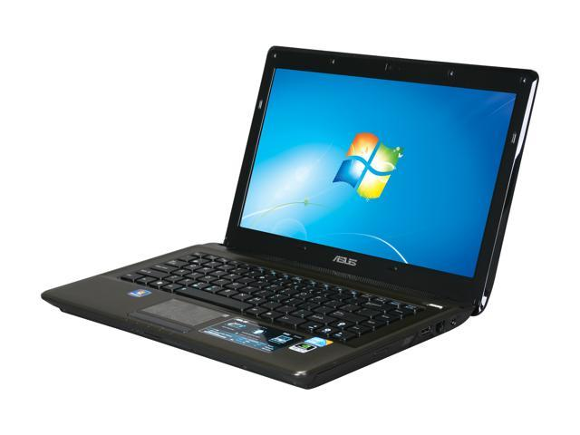 ASUS Laptop K42 Series K42JV-X1 Intel Core i5 450M (2.40 GHz) 4 GB Memory 500 GB HDD NVIDIA GeForce GT 335M 14.0