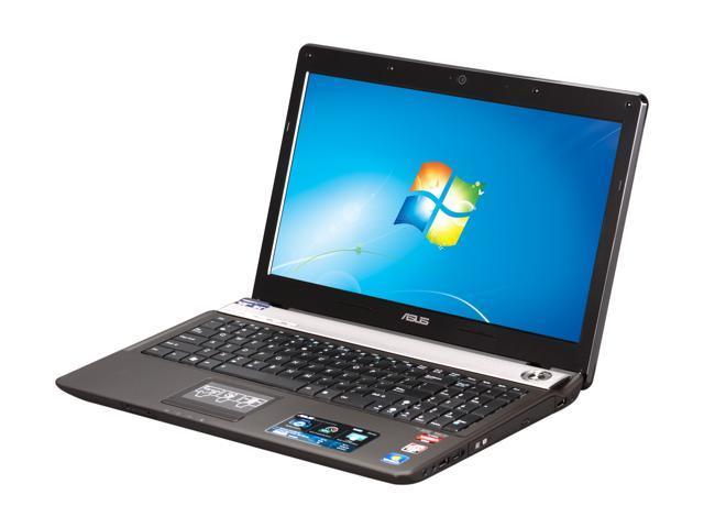 "ASUS Laptop N52DA-X1 AMD Phenom II Quad-Core P920 (1.6 GHz) 4 GB Memory 500 GB HDD ATI Mobility Radeon HD 5730 15.6"" Windows ..."