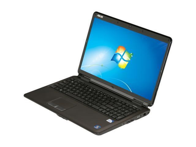 "ASUS Laptop K60I-RBBBR05 Intel Pentium dual-core T4400 (2.20 GHz) 4 GB Memory 500 GB HDD Intel GMA 4500M 16.0"" Windows 7 ..."