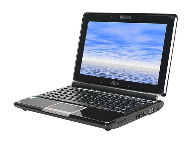 """ASUS Eee PC 1000HEB-BLK001X-FR Black 10.1"""" NetBook"""