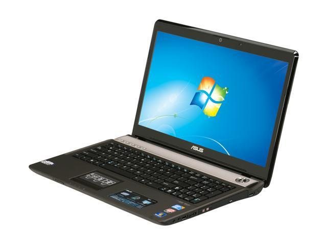 ASUS Laptop N61 Series N61JQ-B1 Intel Core i7 740QM (1.73 GHz) 4 GB Memory 500 GB HDD ATI Mobility Radeon HD 5730 16.0