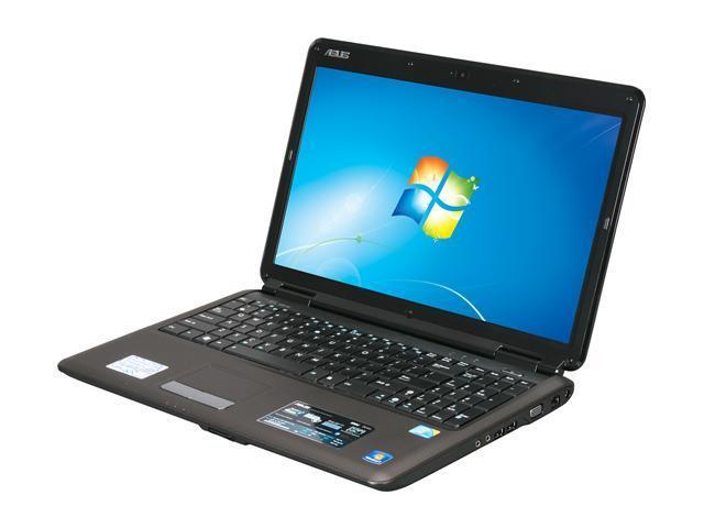 ASUS Laptop K50 Series K50IJ-G2B Intel Core 2 Duo T6570 (2.10 GHz) 3 GB Memory 320 GB HDD Intel GMA 4500M 15.6