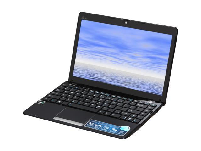 """ASUS Eee PC 1215T-MU10-BK Black 12.1"""" WXGA NetBook"""