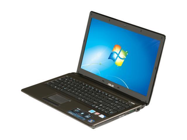 ASUS Laptop K52 Series K52JE-XN1 Intel Pentium dual-core P6100 (2.00 GHz) 4 GB Memory 320 GB HDD ATI Mobility Radeon HD 5470 15.6