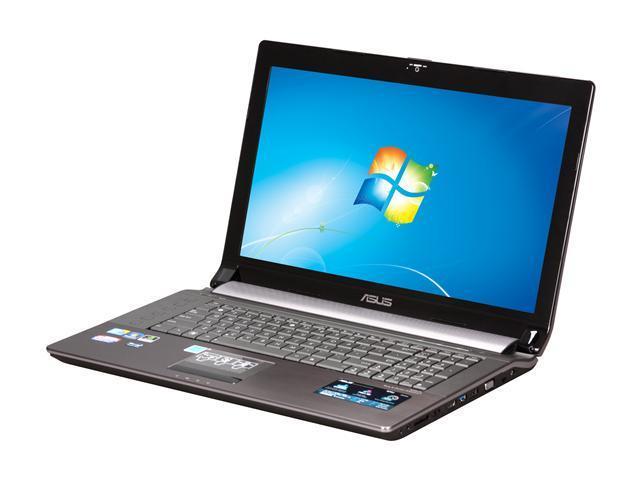 "ASUS Laptop N73JQ-A2 Intel Core i7 740QM (1.73 GHz) 6 GB Memory 500 GB HDD NVIDIA GeForce GT 425M 17.3"" Windows 7 Home Premium ..."
