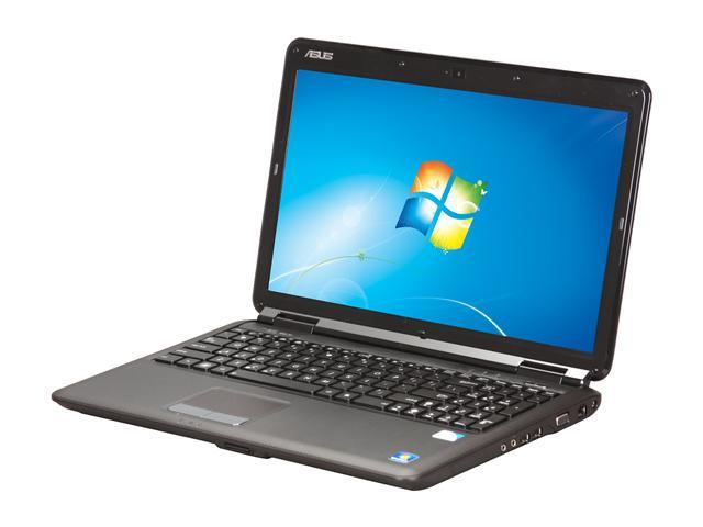 ASUS Laptop K50 Series K50IJ-BNC5 Intel Pentium dual-core T4500 (2.30 GHz) 4 GB Memory 500 GB HDD Intel GMA 4500M 15.6