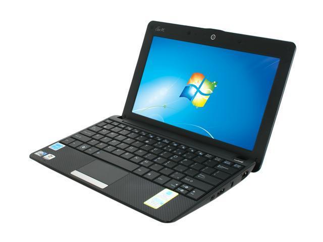 "ASUS Eee PC 1001PX-EU17-BK Black 10.1"" WSVGA Netbook"