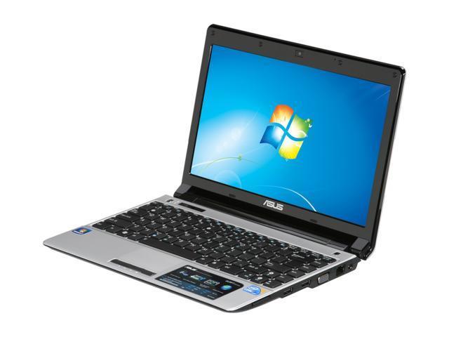 "ASUS Laptop UL20 Series UL20FT-B1 Intel Core i3 380UM (1.33 GHz) 4 GB Memory 500 GB HDD Intel GMA HD 12.1"" Windows 7 Home ..."