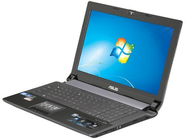 ASUS Laptop N53 Series N53SV-XV1 Intel Core i7 2630QM (2.00 GHz) 4 GB Memory 500 GB HDD NVIDIA GeForce GT 540M w/ NVIDIA ...