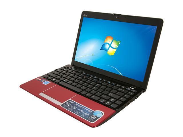 """ASUS Eee PC 1215B-MU17-RD Red 12.1"""" Netbook"""