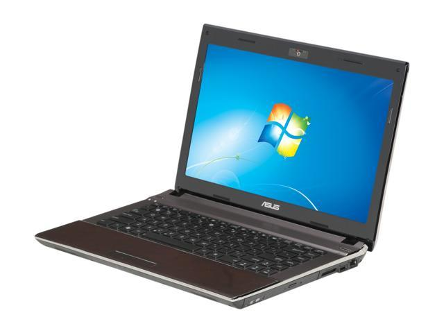 ASUS Laptop U43 Series U43F-BBA6 Intel Core i5 480M (2.66 GHz) 6 GB Memory 640GB HDD Intel HD Graphics 14.0