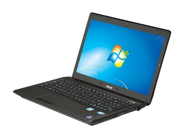 ASUS Laptop K52 Series K52F-RBR9 Intel Core i3 1st Gen 370M (2.40 GHz) 4 GB Memory 640GB HDD Intel HD Graphics 15.6
