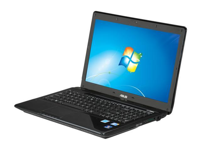 "ASUS Laptop K52 Series K52F-RGR8 Intel Core i3 380M (2.53 GHz) 4 GB Memory 640GB HDD Intel HD Graphics 15.6"" Windows 7 Home ..."