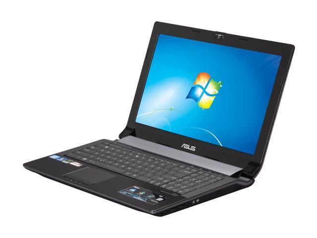 ASUS Laptop N53SV-EH72 Intel Core i7 2670QM (2.20 GHz) 6 GB Memory 500 GB HDD NVIDIA GeForce GT 540M 15.6
