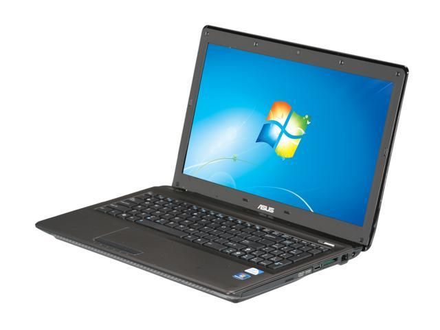 ASUS Laptop X52 Series X52F-XR9 Intel Pentium P6200 (2.13 GHz) 4 GB Memory 320 GB HDD Intel HD Graphics 15.6