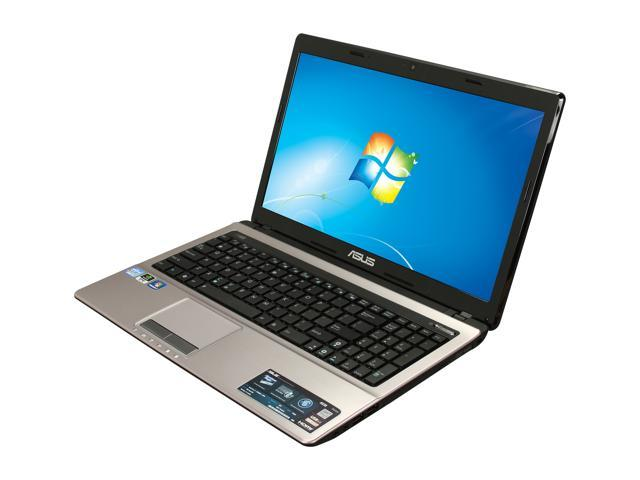 ASUS Laptop A53SD-NS71 Intel Core i7 2670QM (2.20 GHz) 6 GB Memory 500 GB HDD NVIDIA GeForce GT 610M 15.6