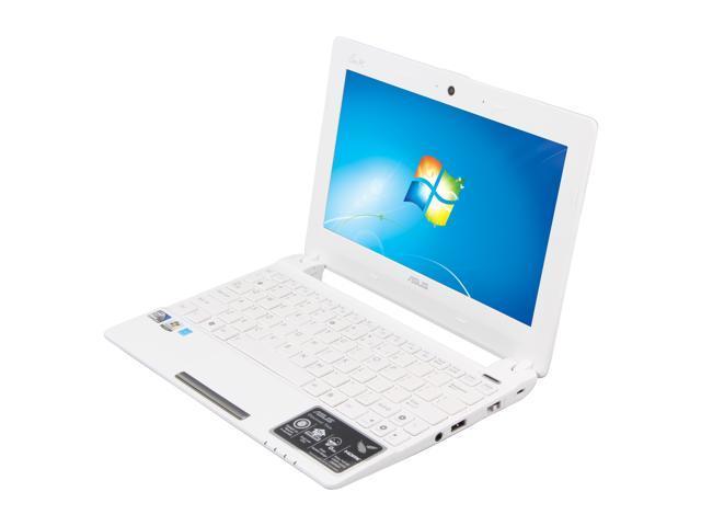 "ASUS Eee PC X101CH-EU17-WT Matte White 10.1"" WSVGA Netbook"