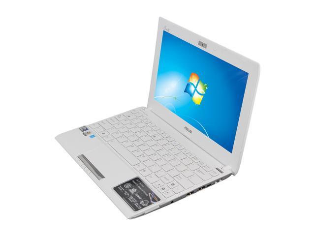 ASUS Eee PC 1025C-MU17-WT Matte White Intel Atom N2600(1.60 GHz) 10.1