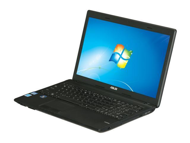 ASUS Laptop X54C-BBK5 Intel Core i3 2350M (2.30 GHz) 4 GB Memory 320 GB HDD Intel HD Graphics 3000 15.6