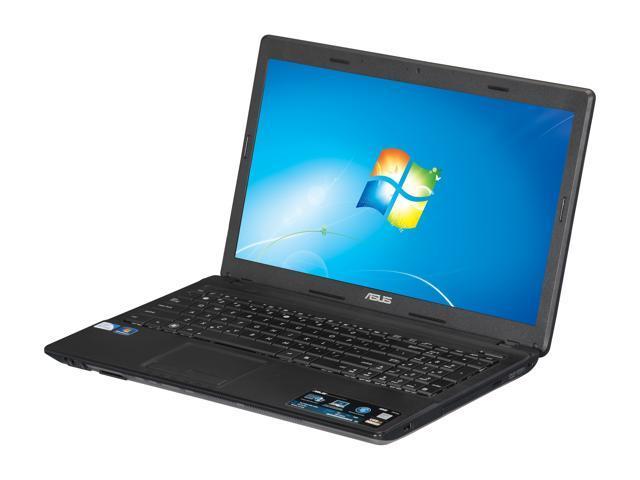 "ASUS Laptop A54 Series A54C-NB91 Intel Pentium B970 (2.3 GHz) 6 GB Memory 320 GB HDD Intel HD Graphics 15.6"" Windows 7 Home ..."
