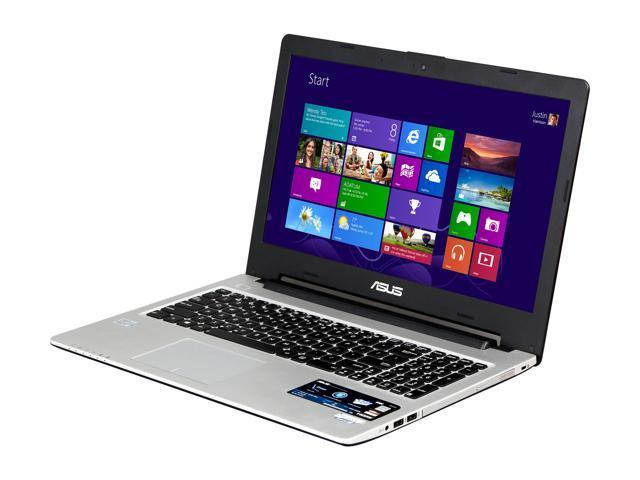 "ASUS S56CA-WH31 Intel Core i3 4 GB Memory 500 GB HDD 24 GB SSD 15.6"" Ultrabook Windows 8"