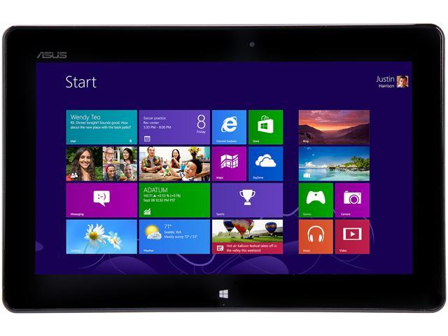 "ASUS VivoTab RT TF600T-C1-GR 2GB DDR3 -64GB- 10.1"" Windows 8 RT Tablet - Gray"