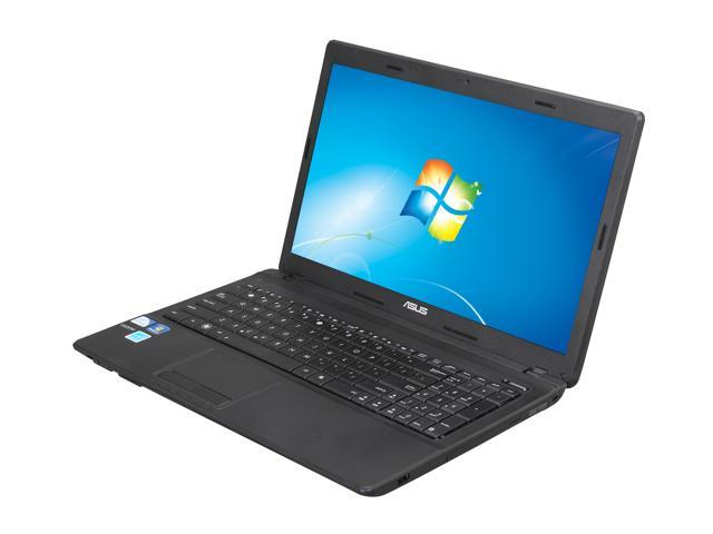 "ASUS Notebook, A Grade X54C-BBK17 Intel Pentium B960 (2.2 GHz) 4 GB Memory 320 GB HDD Intel HD Graphics 15.6"" Windows 7 Home ..."