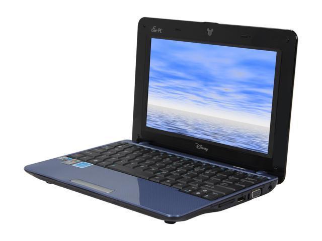 """ASUS Eee PC MK90-BLU001X 8.9"""" WSVGA Netbook"""