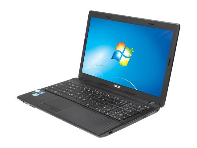 ASUS Laptop X54C-BBK21 Intel Pentium B960 (2.2 GHz) 4 GB Memory 320 GB HDD Intel HD Graphics 3000 15.6