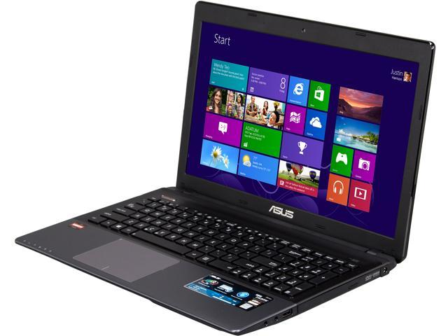 ASUS Laptop K55N-DS81 AMD A8-Series A8-4500M (1.90 GHz) 4 GB Memory 500 GB HDD AMD Radeon HD 7640G 15.6