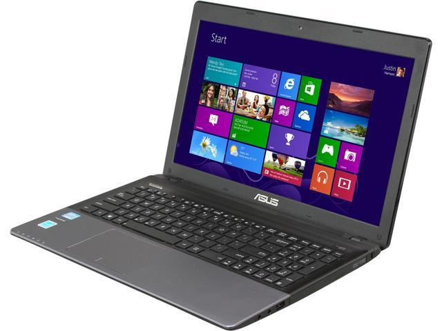 ASUS Laptop K55 Series K55ARF-HI5121E Intel Core i5 3rd Gen 3210M (2.50 GHz) 4 GB Memory 500 GB HDD Intel HD Graphics 4000 15.6