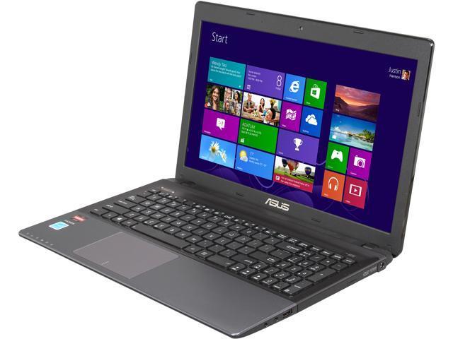 ASUS Laptop K55N-HA8123K AMD A8-Series A8-4500M (1.90 GHz) 4 GB Memory 500 GB HDD AMD Radeon HD 7640G 15.6