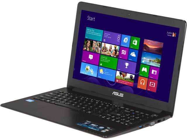 ASUS Laptop F502CA-EB31 Intel Core i3 2nd Gen 2367M (1.40 GHz) 4 GB Memory 500 GB HDD Intel HD Graphics 3000 15.6