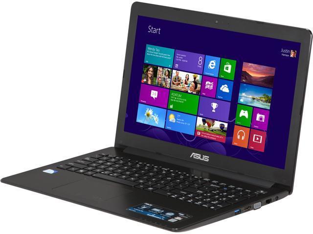 """ASUS Laptop F502CA-EB91 Intel Pentium 2117U (1.80 GHz) 4 GB Memory 500 GB HDD Intel HD Graphics 15.6"""" Windows 8 64-Bit"""