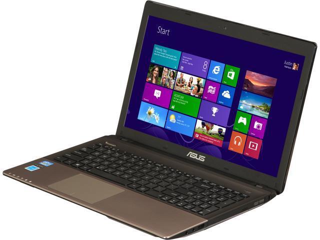 "ASUS Laptop K55ARF-SI50303R Intel Core i5 3230M (2.60 GHz) 4 GB Memory 500 GB HDD Intel HD Graphics 3000 15.6"" Windows 8 ..."