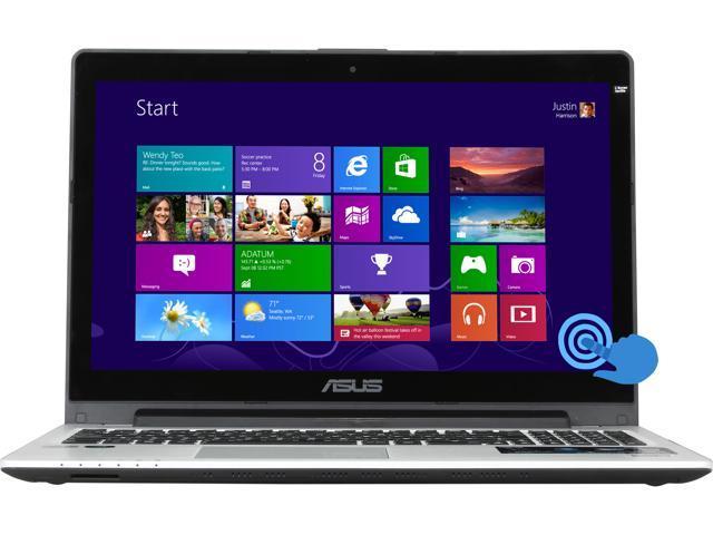 "ASUS S550CM-BS71-CB Intel Core i7 8 GB Memory 750 GB HDD 24 GB SSD 15.6"" Touchscreen Ultrabook Windows 8"