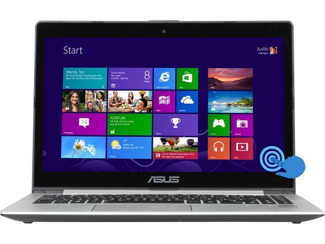 "ASUS S400CA-FS71-CB Intel Core i7 6 GB Memory 500 GB HDD 24 GB SSD 14.1"" Touchscreen Ultrabook Windows 8"