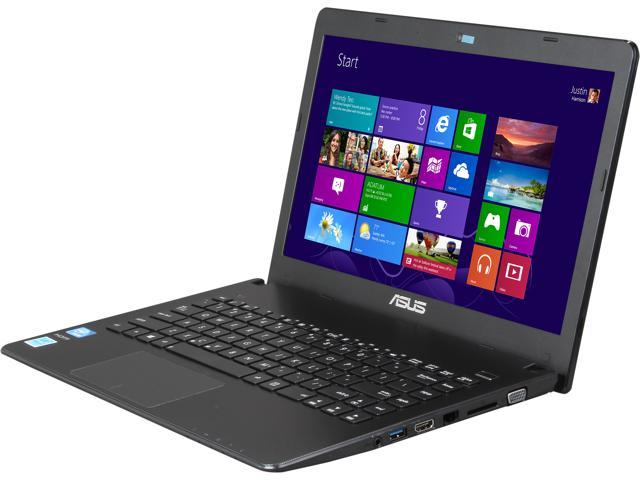 "ASUS Laptop X401A-BCL0705Y Intel Celeron 1000M (1.80 GHz) 4 GB Memory 320 GB HDD Intel HD Graphics 14.0"" Windows 8 64-Bit"