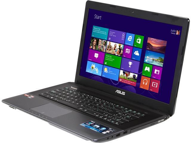 ASUS Laptop K75DE-BH01-CB AMD A10-Series A10-4600M (2.30 GHz) 8 GB Memory 750 GB HDD AMD Radeon HD 7660G 17.3