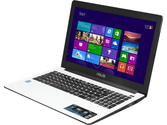 "ASUS Laptop X502CA-RB01-WT Intel Celeron 1007U (1.5 GHz) 4 GB Memory 320 GB HDD Intel HD Graphics 15.6"" Windows 8 64-bit"