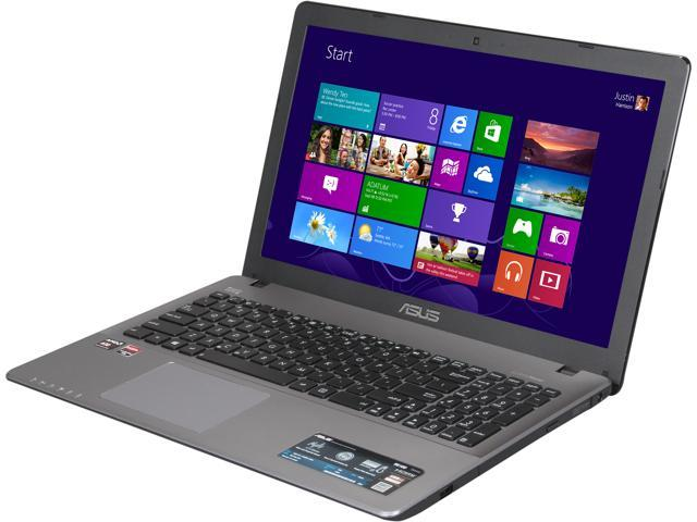 "ASUS Laptop R510DP-FH11 AMD A10-Series A10-5750M (2.50 GHz) 8 GB Memory 750 GB HDD AMD Radeon HD 8670M 2GB 15.6"" Windows ..."