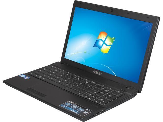 ASUS Laptop P53E-XB31 Intel Core i3 2370M (2.40 GHz) 4 GB Memory 500 GB HDD HD 3000 15.6
