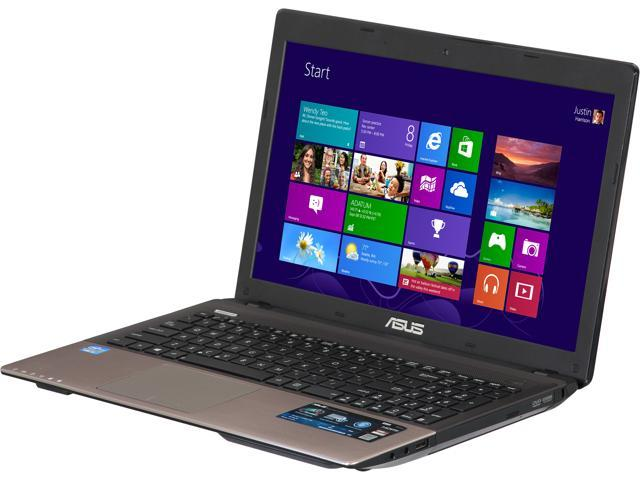 "ASUS Laptop K55A-DH51 Intel Core i5 3210M (2.50 GHz) 4 GB Memory 750 GB HDD Intel HD Graphics 4000 15.6"" Windows 8"